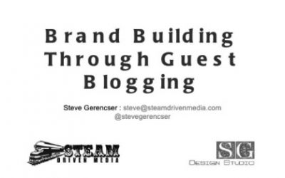 Brand Building Through Guest Blogging