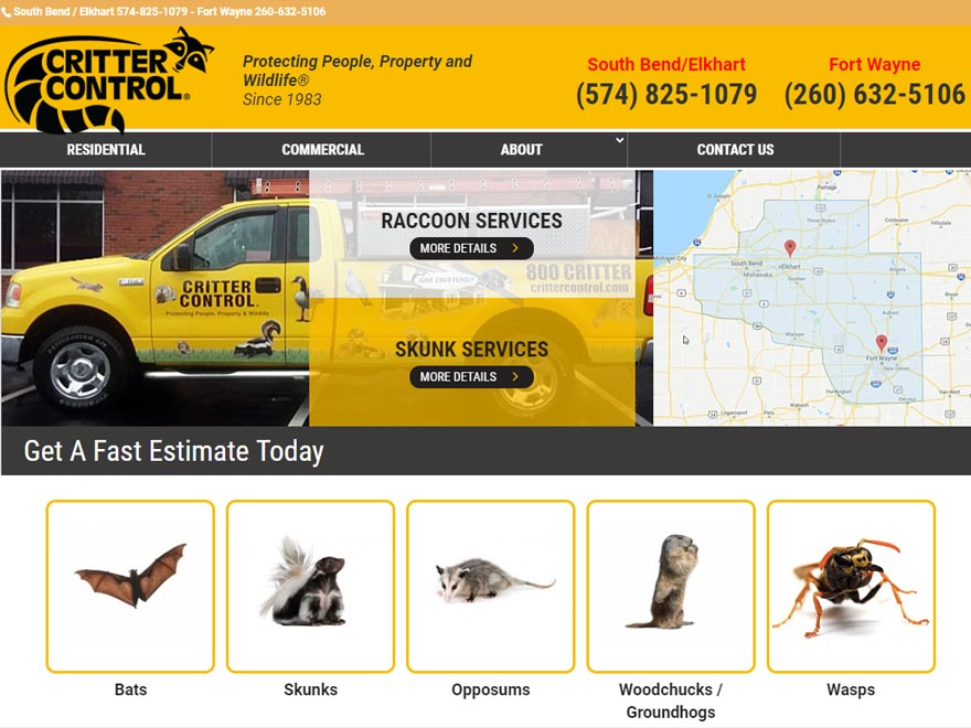 Critter Control Screen Shot